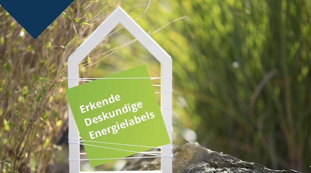 Erkende deskundige energielabel leverancier